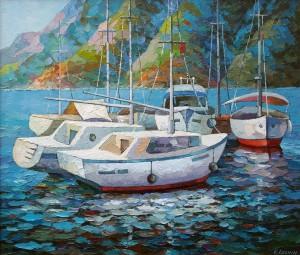 """""""Яхты на рейде"""", 2015г."""
